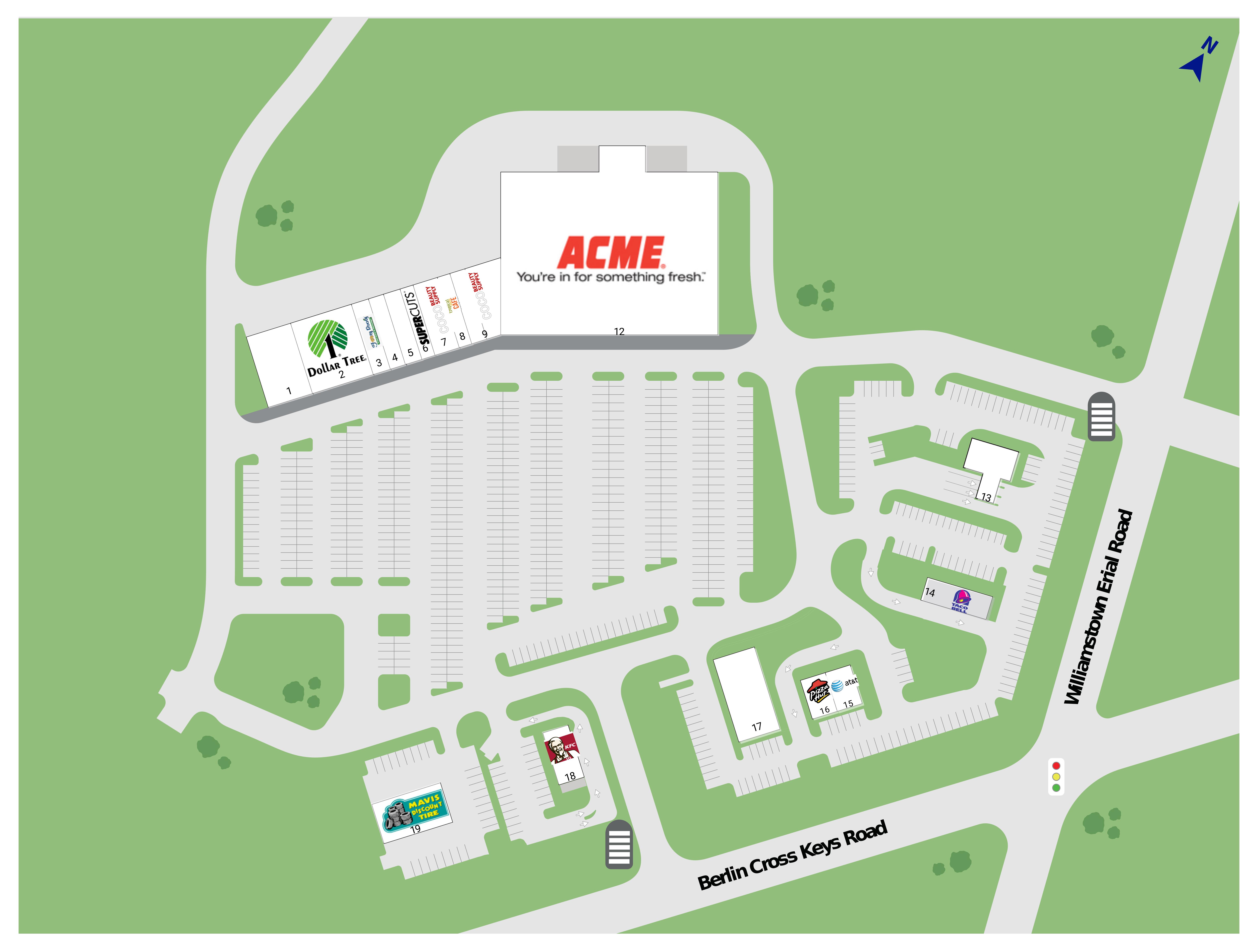 Sicklerville Nj Gloucester Town Center Retail Space For Lease Katz Properties Llc